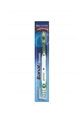 Banat Dynamic Orta Etkili Temizlik Diş Fırçası 0