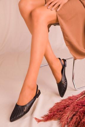 Soho Exclusive Siyah Kadın Sandalet 15027 2