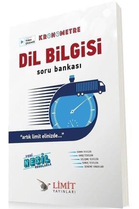 Limit Yayınları Dil Bilgisi Kronometre Soru Bankası 2021 0