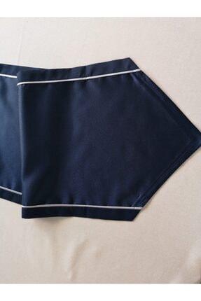 ByAnna Home Textile Saten Runner Gri Biyeli 1