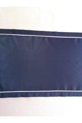 ByAnna Home Textile Saten Runner Gri Biyeli 2
