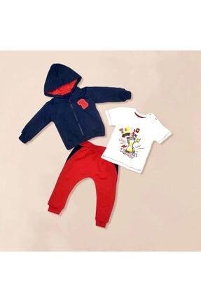 Blueberry Kids Erkek Bebek Alt-üst Takım 3'lü 0