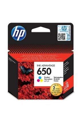 HP 650 Siyah Ve Renkli Kartuş Seti (Cz101ae+cz102ae) 1