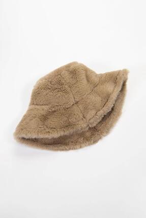 Y-London 12839 Bej Rengi Bucket Şapka 3