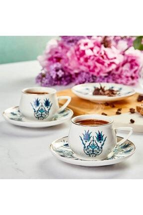 Karaca İznik Yeni Form 6 Kişilik Kahve Fincan Takımı 2