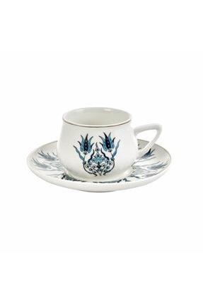 Karaca İznik Yeni Form 6 Kişilik Kahve Fincan Takımı 4