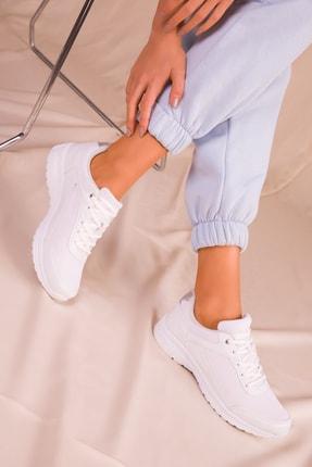 Soho Exclusive Kadın Beyaz Sneaker 15930 2