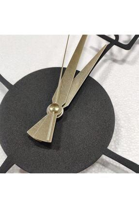 Pirudem Masaüstü Metal Ürünler - 20x20 Cm Metal Masaüstü Saat - Metal Sanatları 3