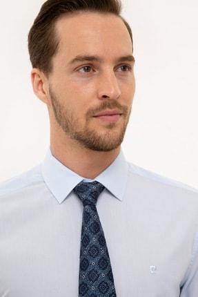 Pierre Cardin Açık Mavi Slim Fit Basic Gömlek 0
