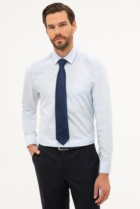 Picture of Açık Mavi Regular Fit Basic Gömlek