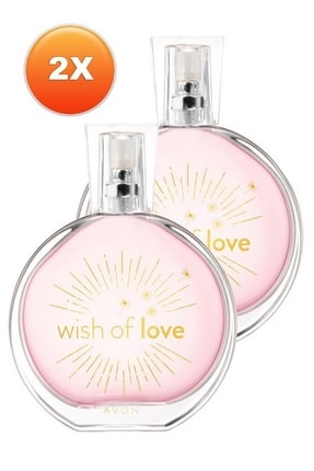 Avon Wish Of Love Kadın Parfüm Edt 50 ml 2'li Set 5050000103374 0
