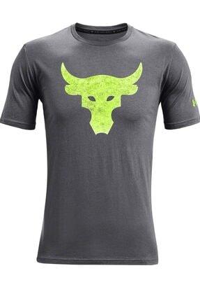Under Armour Erkek Spor T-Shirt - UA Pjt Rock Brahma Bull SS - 1361733-012 0