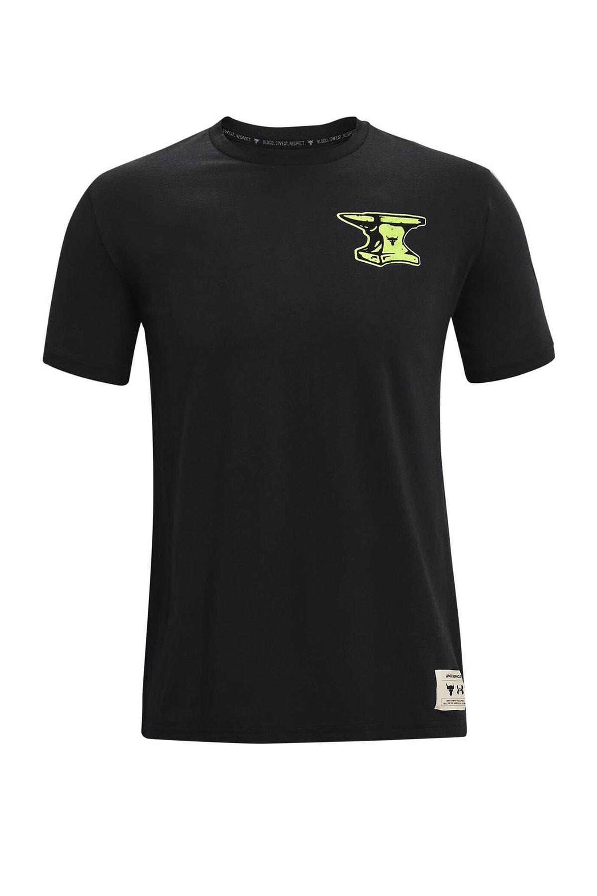 Under Armour Erkek Spor T-Shirt - UA Pjt Rock Wrecking Crew SS - 1361725-001