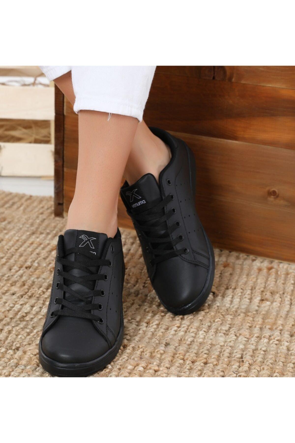 AlbiShoes Unisex Siyah Stanley  Sneaker