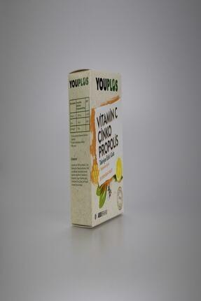 Youplus Vitamin C Çinko Propolis 20 Efervesan Tablet 1
