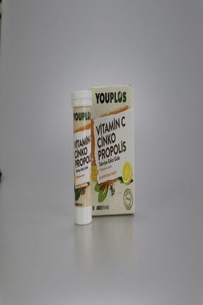 Youplus Vitamin C Çinko Propolis 20 Efervesan Tablet 4