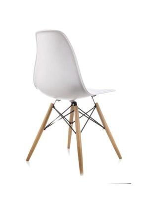 Dorcia Home Mona Beyaz Sandalye - Cafe Balkon Mutfak Sandalyesi 2