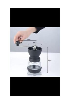 Coffee Factory Coffe Grinder Seramik Cam Kahve Öğütücü 3