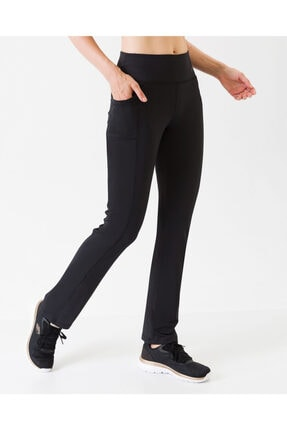 Skechers Core Tights W Base Loose Pant Kadın Siyah Tayt S201255-001 2