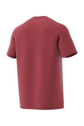 adidas MH BOS TEE Kırmızı Erkek T-Shirt 101118094 1