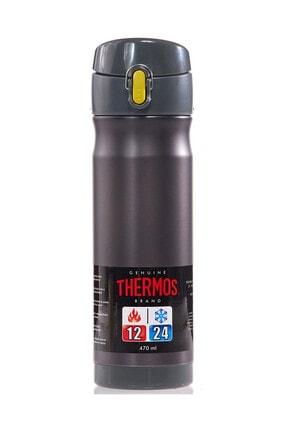 Thermos JMW5004 Çelik Mug Termos 470ml. Mat Siyah 191701 0