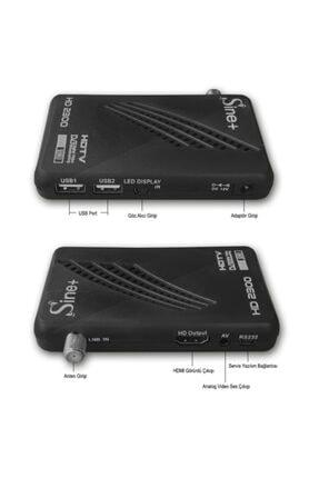 Sine Plus 2300 Hd Mini Uydu Alıcısı Tkgs 2