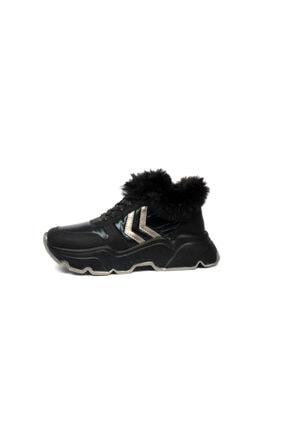 Ewoll Kadın Siyah Spor Ayakkabı 1