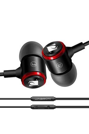 JABRON Siyah Jb-19 Pro Mikrofonlu Kablolu Kulak Içi Kulaklık ve Özel Taşıma Çantası 3