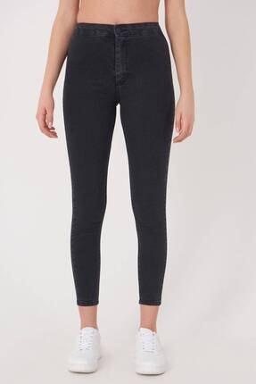 Addax Kadın Füme Yüksek Bel Pantolon Pn10915 - G8Pnn Adx-0000013630 2