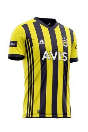 Fenerbahçe Erkek Mavi Fb 20 Çubuklu Maç Forması 0