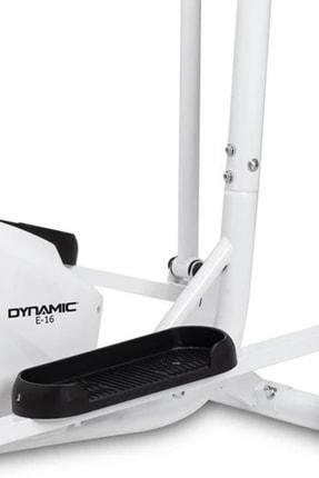 Dynamic E16 White Premium Manyetik Eliptik Bisiklet 2