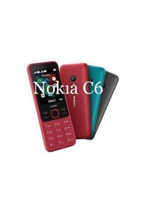 Nokia Kırmızı C6 / 515 Kameralı Hafıza Kartlı Cep Telefonu 1