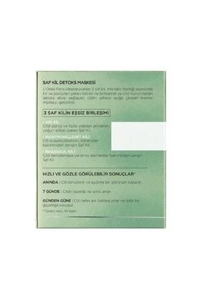 L'Oreal Paris Nem Terapisi Normalden Karmaya Ciltler-Su Bazlı Günlük Bakım + Saf Kil Detoks Maskesi 36005234248942 3