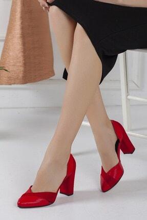 Hayalimdeki Ayakkabı Kadın Kırmızı Loretta Topuklu Ayakkabı 0