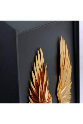 zekupp Melek Kanadı Çerçevesi | Metal Çerçeve Duvar Dekorasyonu | Kişiye Özel Tablolar 3