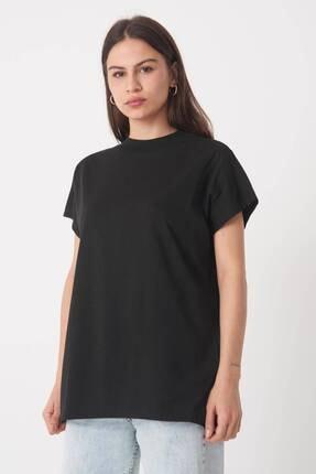 Addax Kadın Siyah Basic T-Shirt P0769 - U13 Adx-0000020933 0