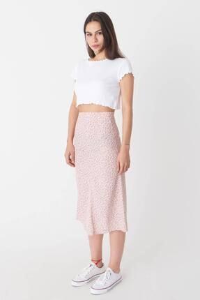Addax Kadın Beyaz Basic T-Shirt P0972 - T7 Adx-0000022401 2