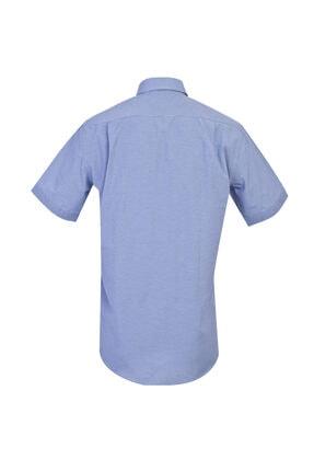 Kiğılı Regular Fit Kısa Kol Desenli Gömlek 1