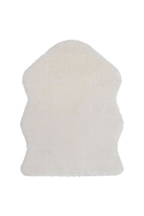 IKEA Yumuşak Dekoratif Halı 55x85 Cm Beyaz 0