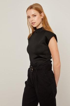 Arma Life Kadın Siyah Vatkalı Dalgıç Bluz 3