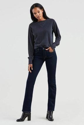 Levi's Kadın Mavi 724 High Rise Straight Jeans 0