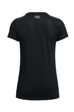 Under Armour Kadın Spor T-Shirt- Tech Solid BL SSC - 1365143-001 1