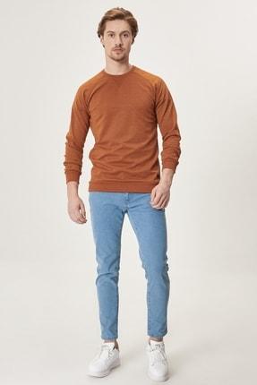Altınyıldız Classics Erkek Buz Mavisi Slim Fit Dar Kesim Denim Esnek Jean Kot Pantolon 3