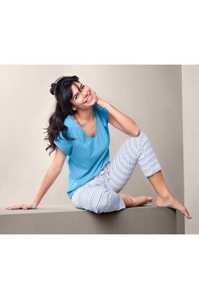 Tchibo Kadın Pamuklu Pijama Takımı 0