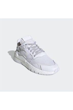 adidas Erkek Beyaz Nite Jogger Günlük Spor Ayakkabı 2