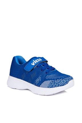 Vicco Hutson Erkek Çocuk Saks Mavi Spor Ayakkabı 0