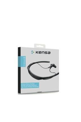 Kensa Wireless Kablosuz Level U2 Model Bluetooth Kulaklık Siyah Kb-480 1
