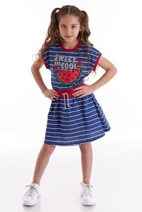 Cool Melon Çizgili Elbise resmi