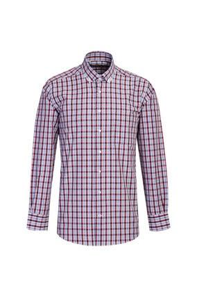 Kiğılı Uzun Kol Regular Fit Ekose Gömlek 0
