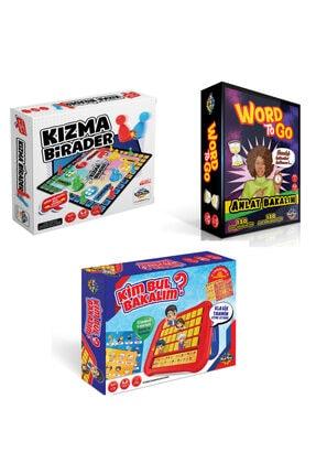 Moli Toys Word To Go Anlat Bakalım ( Tabu Benzeri) + Kızma Birader + Kim Bul Bakalım 3'lü Süper Paket 0